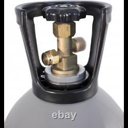 NEW 20 lb CO2 Tank Aluminum Air Cylinder Draft Beer Kegerator Welding Homebrew