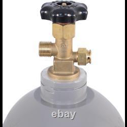 NEW Aluminum 10 lb CO2 Tank Air Cylinder Beer Kegerator Welding Homebrew