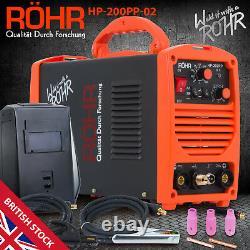 ROHR TIG MMA Inverter Welding Welder Machine (HP-200PP / 160L) Portable Welders