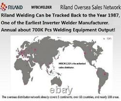 Riland 200A Inverter Multi Process Welder 230V/115V MIG/TIG/Arc Stick welding