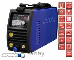 SPARTUS TIG 210E Pulse AC/DC EASY TO USE AND VERSATILE FOR WELDING STEEL