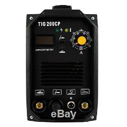 TIG 200A Welding Machine Dual Voltage 110V/220V Portable Welder with LED Display