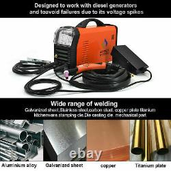 TIG 200P AC DC Welder 110V /220V Stick PFC TIG Welding Machine Aluminum