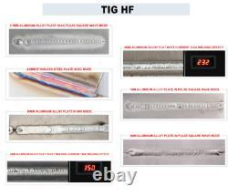TIG MMA 200A TIG200P WELDER 110/220V AC DC INVERTER WELDING MACHINE Aluminum