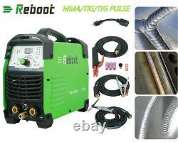 TIG Pulse Welder TIG200P AC 220V Steel Welding aluminum ARC TIG Welding Machine
