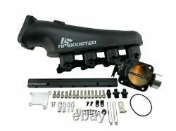 TIG Weld Billet Intake Manifold FOR 89-94 Silvia 180SX 240SX S13 Red Top SR20DET