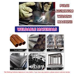 TIG Welder PLUSE Aluminum Weld Multi-Function Welding Machine 200Amp in US stock