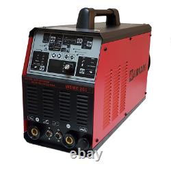 Tig Ac/dc Pulse Simadre 200a Tig200p Inverter Welder Weld Aluminum Argon Regulat