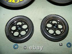 Traxxas dragster funny car funnycar tires wheels rims weld aluminum rc parts