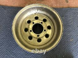 VINTAGE (1) WELD RACING DRAGLITE POLISHED 15X10 5 ON 5 1/2 4x4 FORD SPARE ONLY