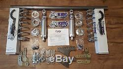 Viking 1979-2004 Mustang WELD-IN Rear Coil-over Mini-Tub Kit Double Adjustable