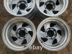 WELD RACING 15x10 aluminum wheels rims 6 lug Chevy K5 Toyota eagle alloy Boyd