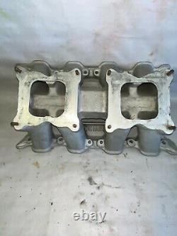 Weiand 351C Cleveland Ford Tunnel Ram Intake Manifold 1992 IT HAS LOTS OF WELDS