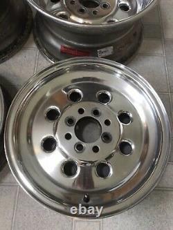 Weld Drag Lite 90 wheelset (2)15x8, 15x4 & 15x3.5 Mustang Fox Body