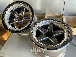 Weld RTS S71 15x10x7.5 Wheel with Single Champion X beadlock 5x4.5 Ford