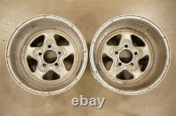 Weld Racing 15x14 Prostar Aluminum Wheels 5 on 4 1/2 5 Spoke Ford Mopar AMC