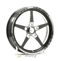 Weld Racing 88B-1704274 Drag 17x4.5'' Black Alumastar 1pc 5X4.75'' NEW