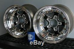 Weld Racing Alumastar Drag Wheels 13x9 5x114.3 Lug Pattern Black