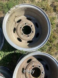 Weld Typhoon's Wheels 16x7.5 Rims 6 x 5.5 Lug Pattern Minitruckin Old School