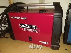 Welding machine Lincoln K41951-2 Electric Power MIG 210 MultiProcess Welder