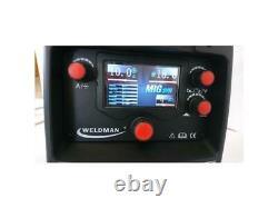 Weldman Semi Automatic Device Welding Migtec 200 Synergia Mig/mag/mma/tig DC